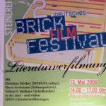 Steinerei 2006 - Plakat