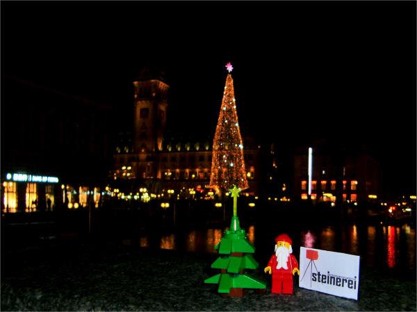 Weihnachtsgrüße aus Hamburg