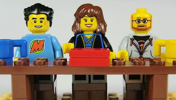Jury 2012 in Lego
