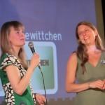 Jurorinnen Ilona Rieke und Jule Körperich