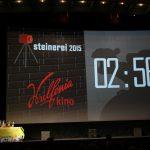 Steinerei 2015 - kurz vor der Show