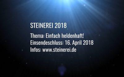 Steinerei 2018 – Aufruf zur Teilnahme