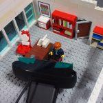 im Brickfilm-Studio (eine Nahaufnahme)