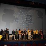 Steinerei 2015 in Klagenfurt - alle Brickfilmer auf der Bühne