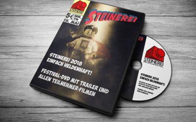 Steinerei 2018 – wieder im Angebot: die Festival-DVD